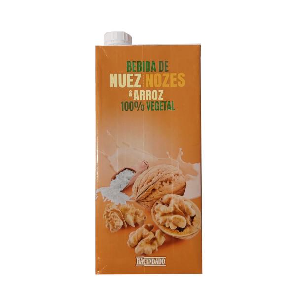 Bebida de Nuez y Arroz (Mercadona)