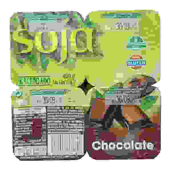 Yogur Soja Chocolate (Mercadona)