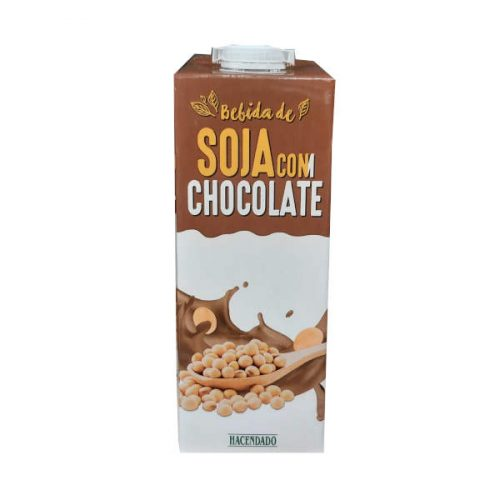 Leche de soja con chocolate Mercadona