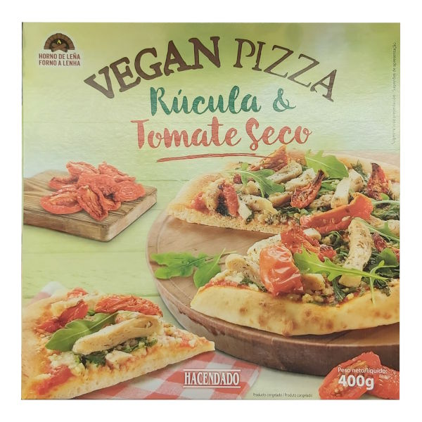 Pizza vegana (Mercadona)