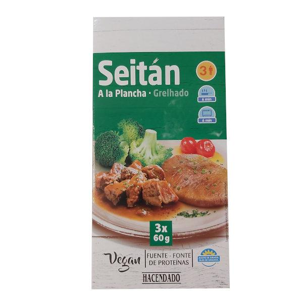 Seitan en Mercadona - Marca Hacendado