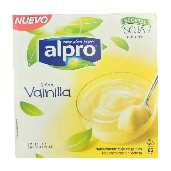 Yogur Soja Vainilla (Alpro)