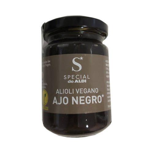 Alioli vegano Aldi de ajo negro
