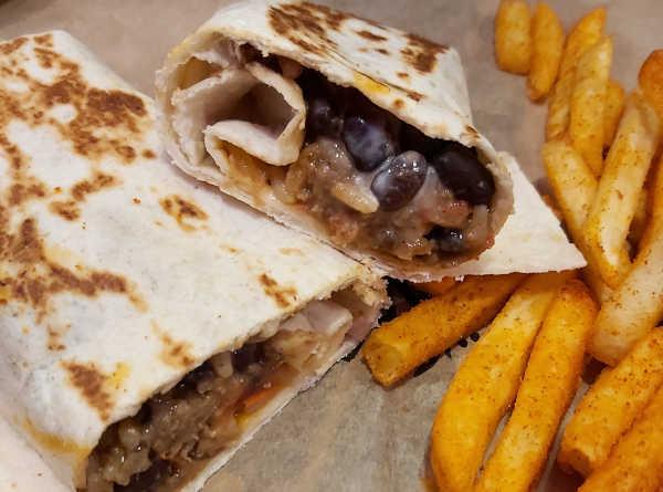 Burrito Taco Bell vegetariano