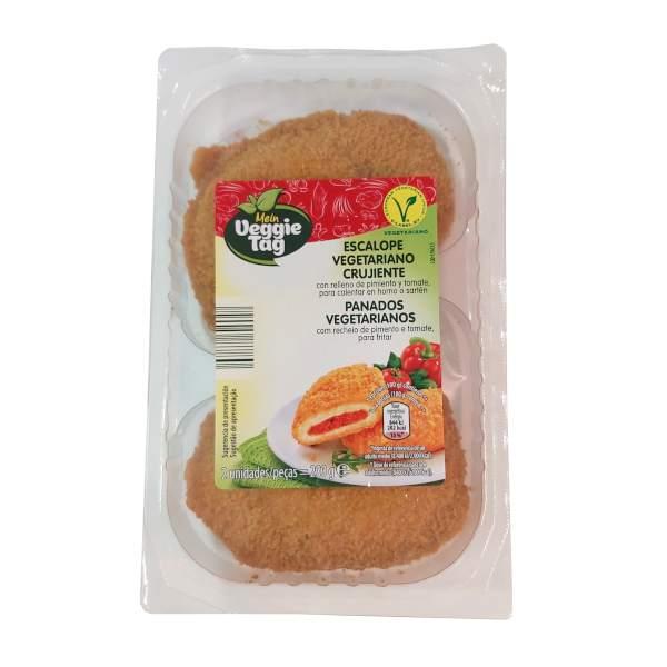 Escalope vegetariano con tomate de Aldi