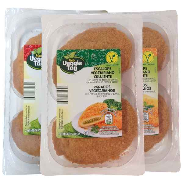Escalopes vegetarianos (Aldi)
