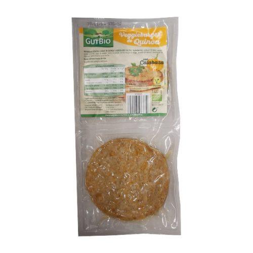 Burger vegetal de quinoa y calabaza