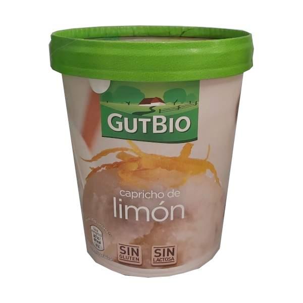 Helado vegano Aldi de limón
