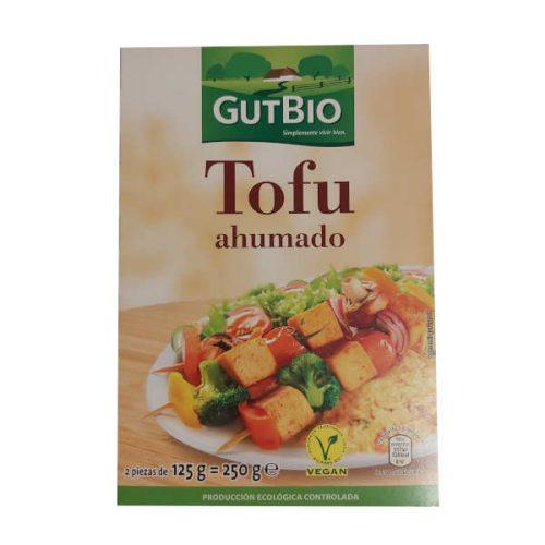 Tofu ahumado Aldi marca Gutbio