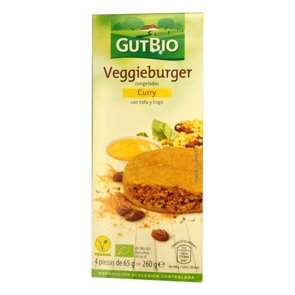 Burger vegetal de curry de Aldi (Gutbio)