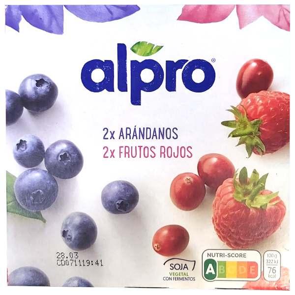 Yogur Alpro Arándanos y Frutos Rojos
