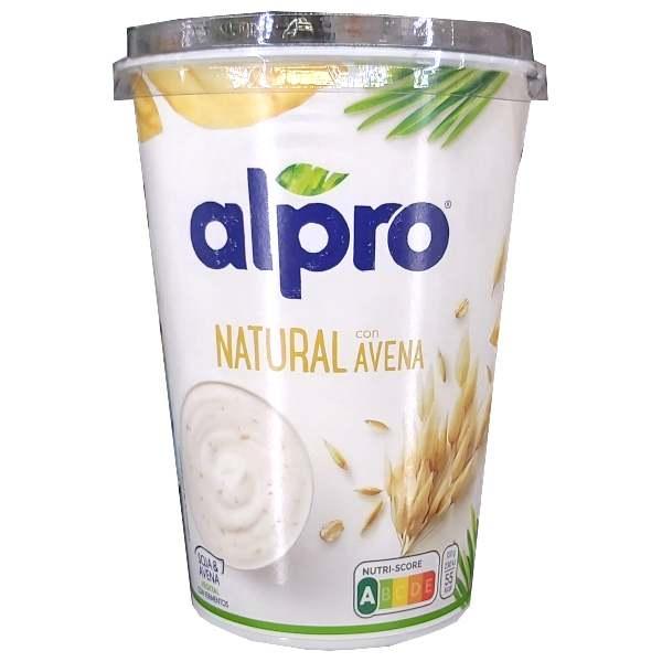 Yogur avena Alpro