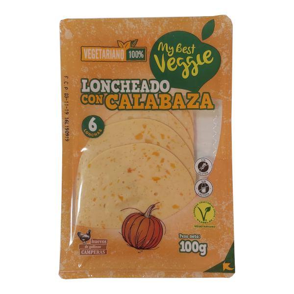 Embutido vegetariano Lidl de calabaza