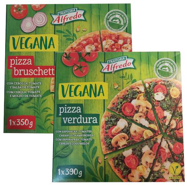 Pizza vegana (Lidl)