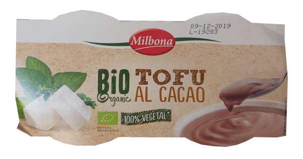 Yogur vegetal de tofu al cacao Lidl