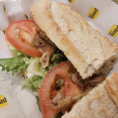 Pans & Company bocadillo vegano de Heura