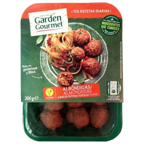 Albóndigas vegetarianas Garden Gourmet