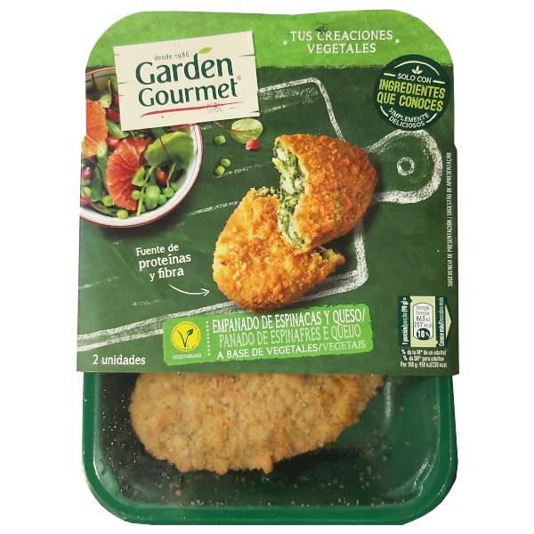 Empanado espinacas y queso (Garden Gourmet)
