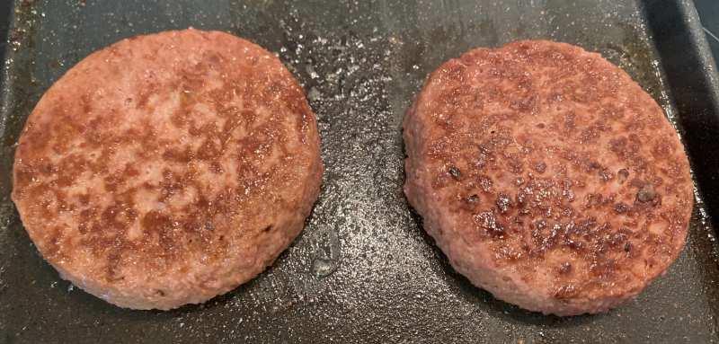 Incredible Burger Garden Gourmet cocinada a la plancha