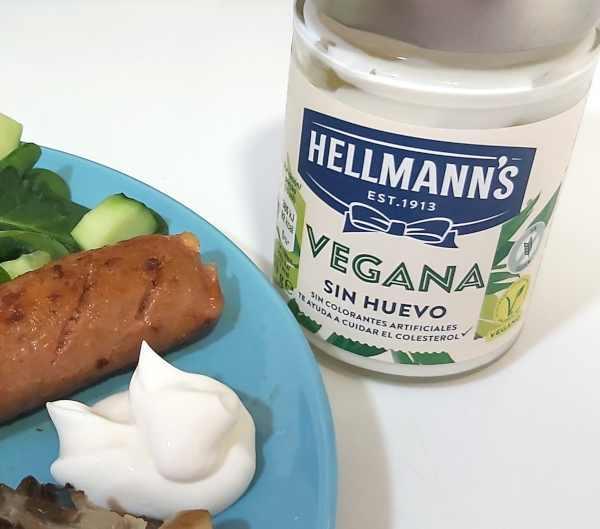 Mayonesa Hellmann's vegana
