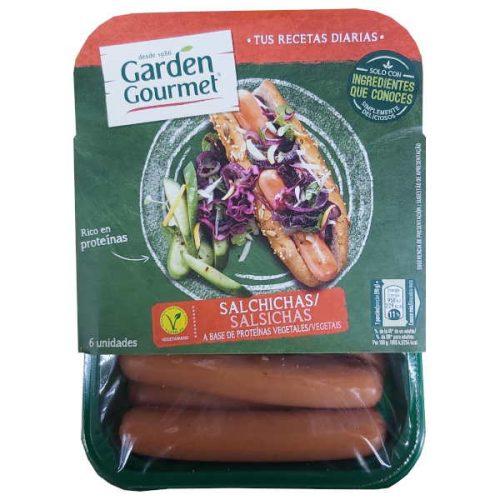 Salchichas vegetarianas Garden Gourmet (Nestle)
