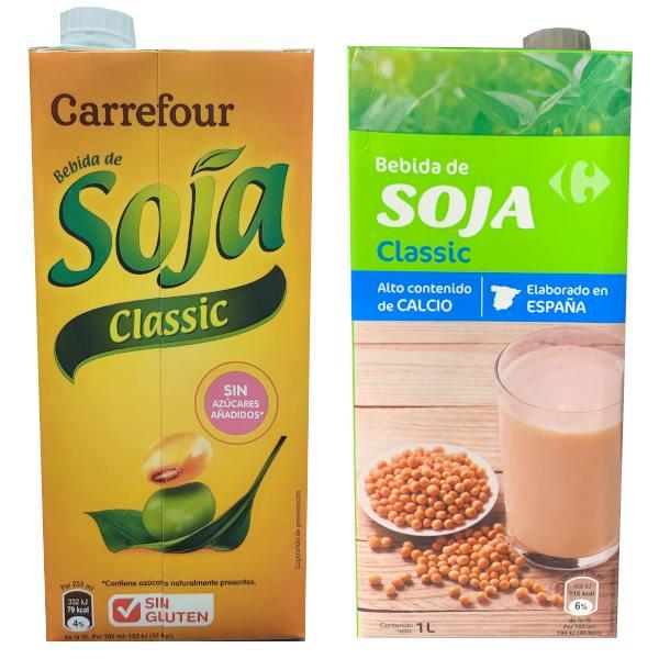 Bebidas de Soja (Carrefour)
