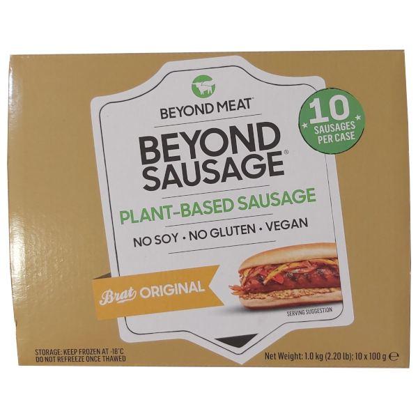 Beyond Sausage (Salchichas Beyond Meat)