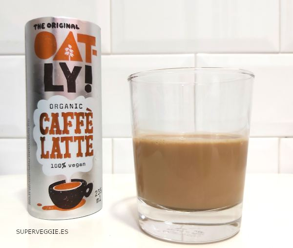 Oatly Caffe Latte - Oatly avena con café