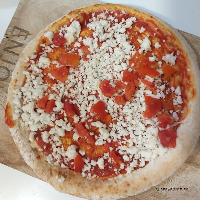 Pizza vegana de Aldi