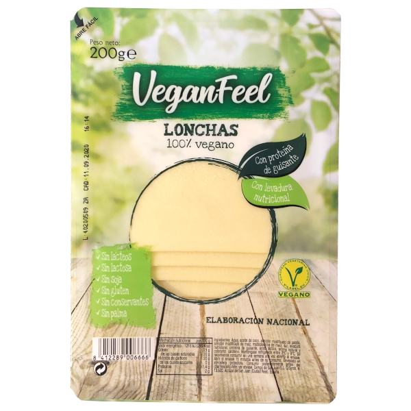 Queso vegano Vegan Feel (Lidl)