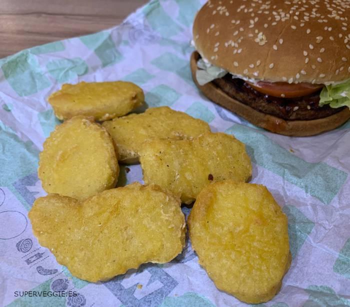 Nuggets veganos Burger King