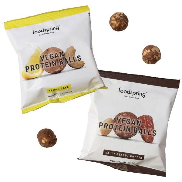 Bolitas proteicas veganas Foodspring