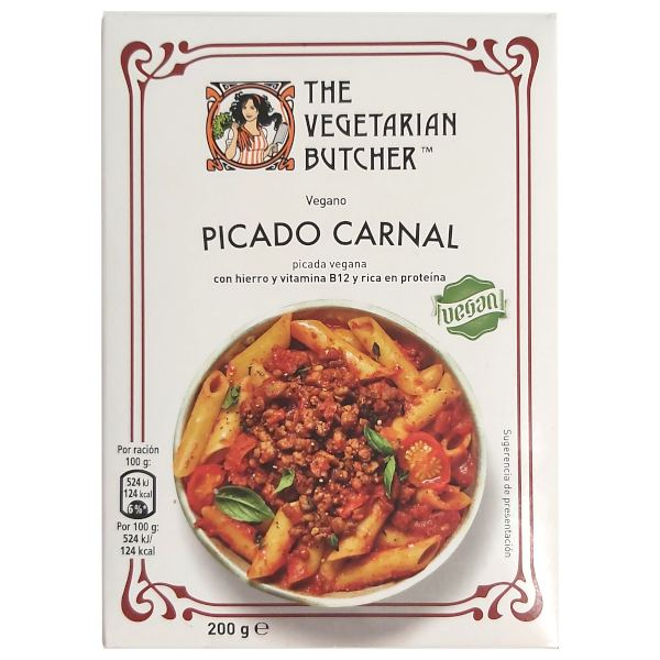 The Vegetarian Butcher: No Carne Picada - Picado Carnal