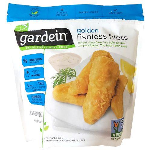 Golden Fishless Filets de Gardein