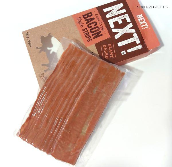 Next! Bacon Vegano disponible en La Sirena