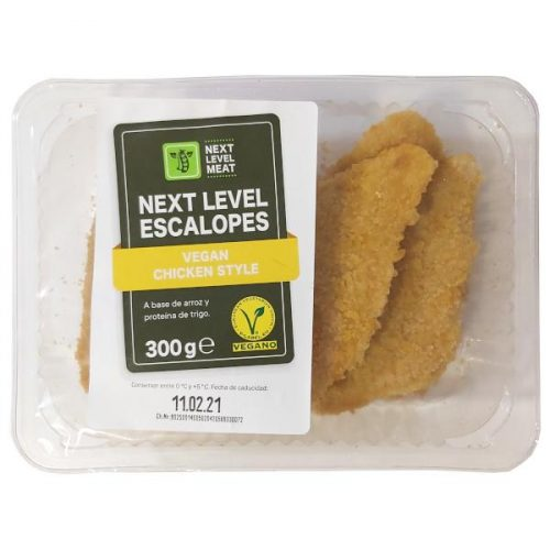 Escalopes veganos Lidl tipo pollo