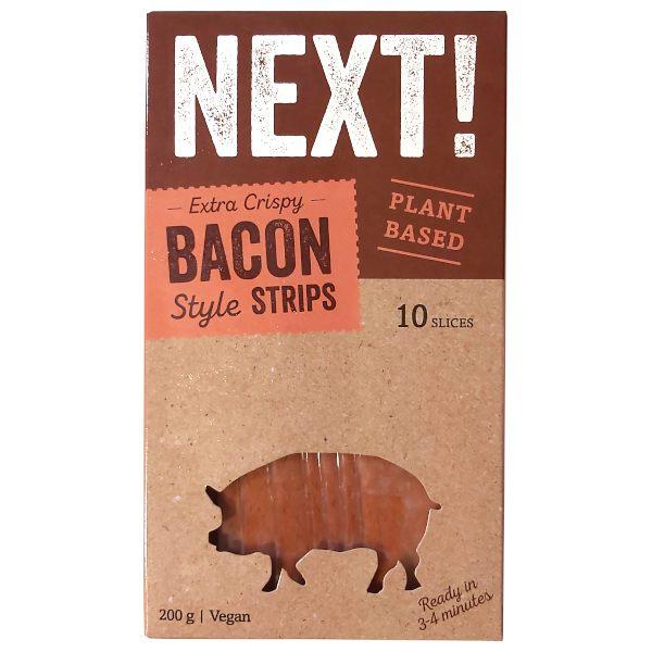 Bacon vegano (Next!)