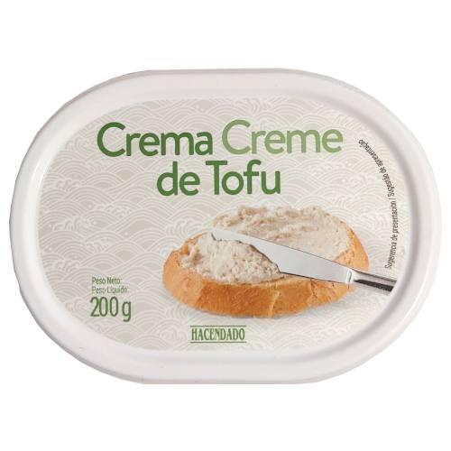 Crema de tofu Mercadona (Queso crema vegano)