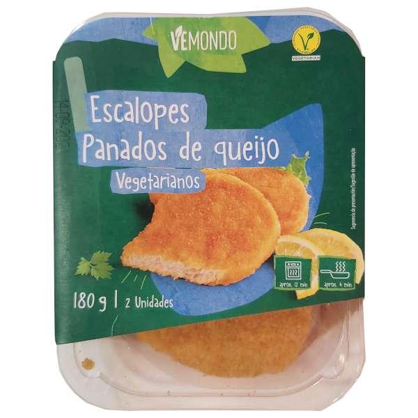 Escalopes empanados de queso (Lidl)