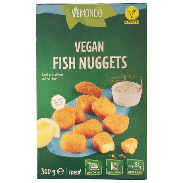 Nuggets de pescado vegano de Lidl Vemondo